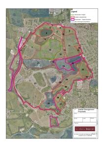 Habitat planning for Bickershaw